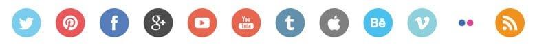 social media icons divider1