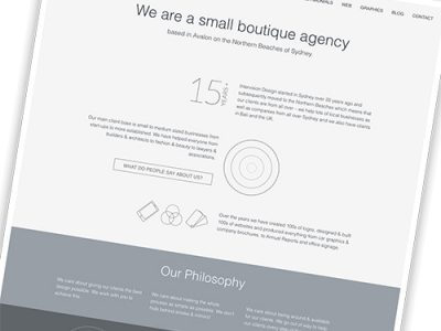tap into the potential of your about us page by intervision design