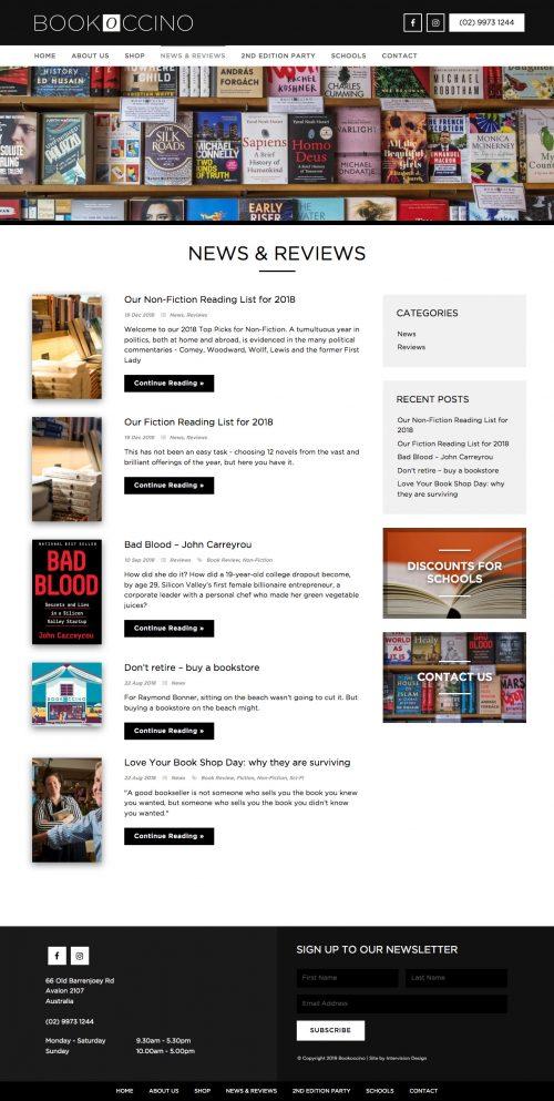 Bookoccino by Intervision Design
